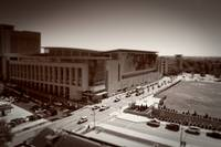 Tilt Shift of the Raleigh Convention Center