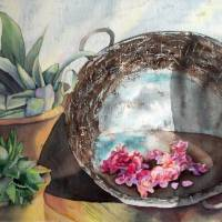 Washtub Still Life Art Prints & Posters by Rebekah McGrady