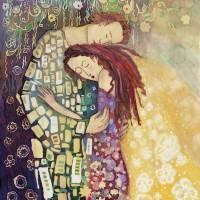 Soulmates Art Prints & Posters by Elena Reznikova