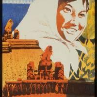 Vintage Chinese Cold War Propaganda Poster Art Prints & Posters by Palacio De Bellas Artes