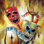 """""""Dos Diablos"""" by HCalderon"""