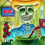 """Green Chile Day of the Dead"" by HCalderon"