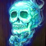 """""""Blue Skull Celeste"""" by HCalderon"""