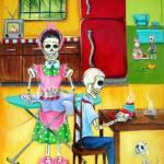 """Day of the Dead Buenos Dias"" by HCalderon"