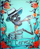 Mi Cerveza (My Beer) Skeleton