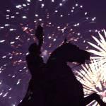 """""""Andrew Jackson Fireworks (NYE 2013)"""" by masonwood"""