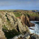 """The cliffs around Lands End"" by tessa-gallery"