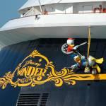 """Disney Wonder cruise ship"" by Landbysea"