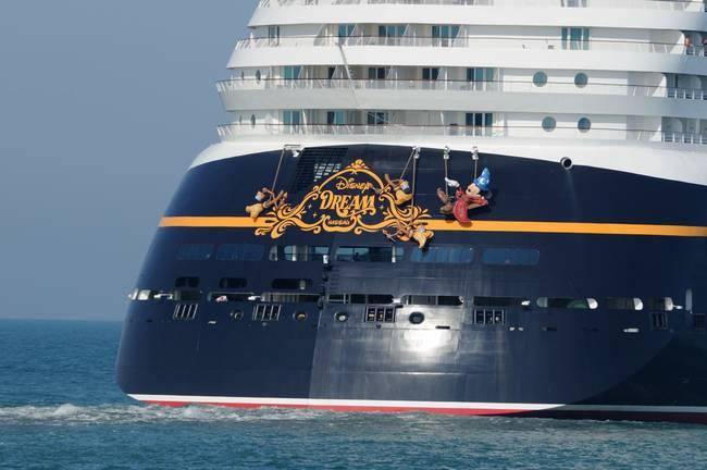 Disney Dream Cruise Ship Stern By Bradford Martin