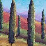 """Cypress Tree Landscape"" by BCArt"