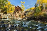Autumn at Crystal Mill