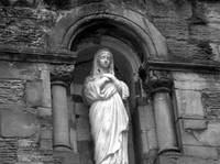 Saint Mary (black and white)