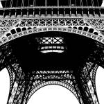 """Eiffel Tower Black and White"" by TammyWinandPhotography"