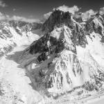 """Glaciers in the Mont Blanc Massif"" by McPaddy"