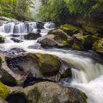 """Chattooga River Potholes Waterfall Highlands NC -"" by DAPhoto"
