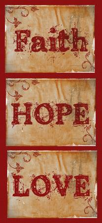 faith hope love old style