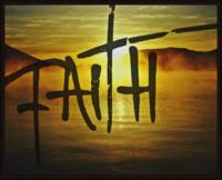 faith sunset texture