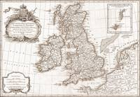 Eighteenth Century Britain Map