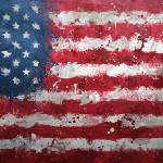 """United States Flag Grunge"" by GrizzlyGaz"