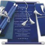 """Royal wedding scroll"" by scroll-wedding-invitation"