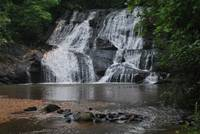Camp Glisson North GA Waterfall and pool