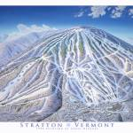 """Stratton Vermont"" by jamesniehuesmaps"