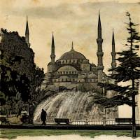 Blue Mosque Istanbul Art Prints & Posters by Henrik Alexandersson