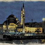 """The New Mosque Istanbul"" by HAX"