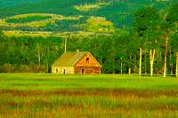 Meadow Barn Color Landscape Photography