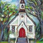 """little church"" by artbyangie"