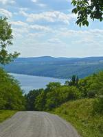 Keuka Lake Country Road