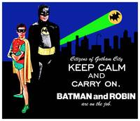 Keep Calm Gotham