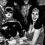 """Batgirl Discovers Wonder Woman"