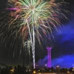 """Denver Elitch Garden Fireworks"" by Santomarco"