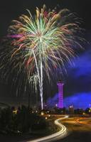 Denver Elitch Garden Fireworks