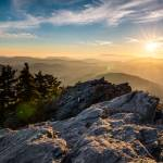 """Grandfather Mountain Sunset Blue Ridge Parkway Wes"" by DAPhoto"
