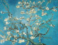 Almond branches in bloom, 1890, by Vincent van Gog