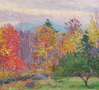 Landscape at Hancock, New Hampshire, October 1923
