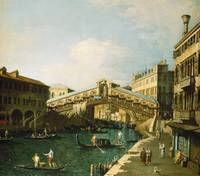 The Grand Canal, Venice (oil on canvas)