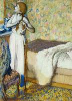 Morning Toilet, 1894 (pastel on paper)
