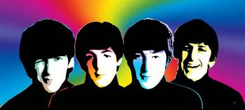 Beatles - Pop Color - Pop Art
