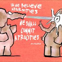 If we believe Art Prints & Posters by Ben Isacat