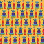 """""""Egyptian Pattern #13"""" by PacoDozierGraphics"""