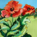 """""""Poppies"""" by MelanieChambersHartman"""