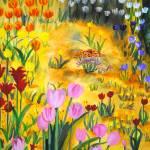 """""""Tulip Parade"""" by ckjonesart"""