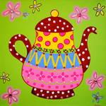 """Dotted Teapot"" by ckjonesart"