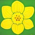 """Dazzling Daffodil"" by ckjonesart"