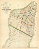 Vintage Map of New York City (1831)