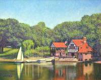 Jamaica Plain Pond Boathouse