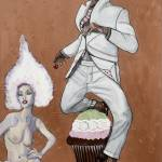 """""""Cupcake A Deux"""" by UnconsciousOnCanvas"""